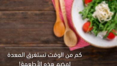 Photo of ما هي مدة هضم الطعام الطبيعية؟